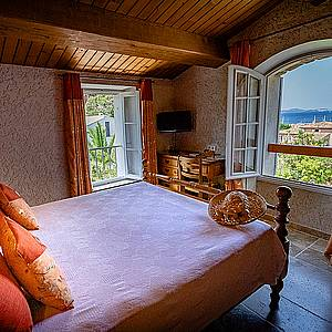 Sea view double room